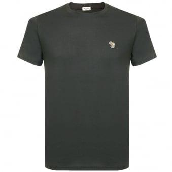 Paul Smith Zebra Logo Black T-Shirt JNFJ-5501