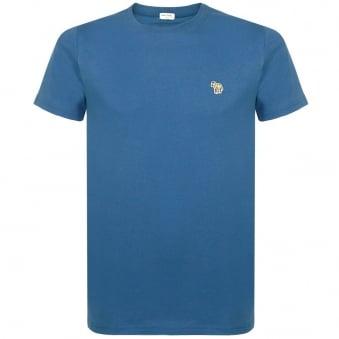 Paul Smith Zebra Logo Teal T-Shirt JNFJ-5501-B44Z