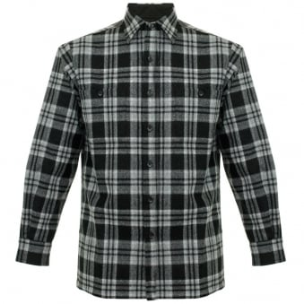 Pendleton Game Day Black Wool Check Shirt AA086-31751-R