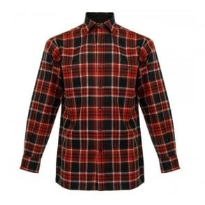 Pendleton Game Day Red Wool Check Shirt AA086-31766-R