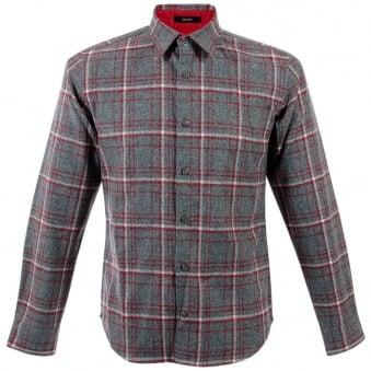 Pendleton Grant Grey Wool Check Shirt IA210