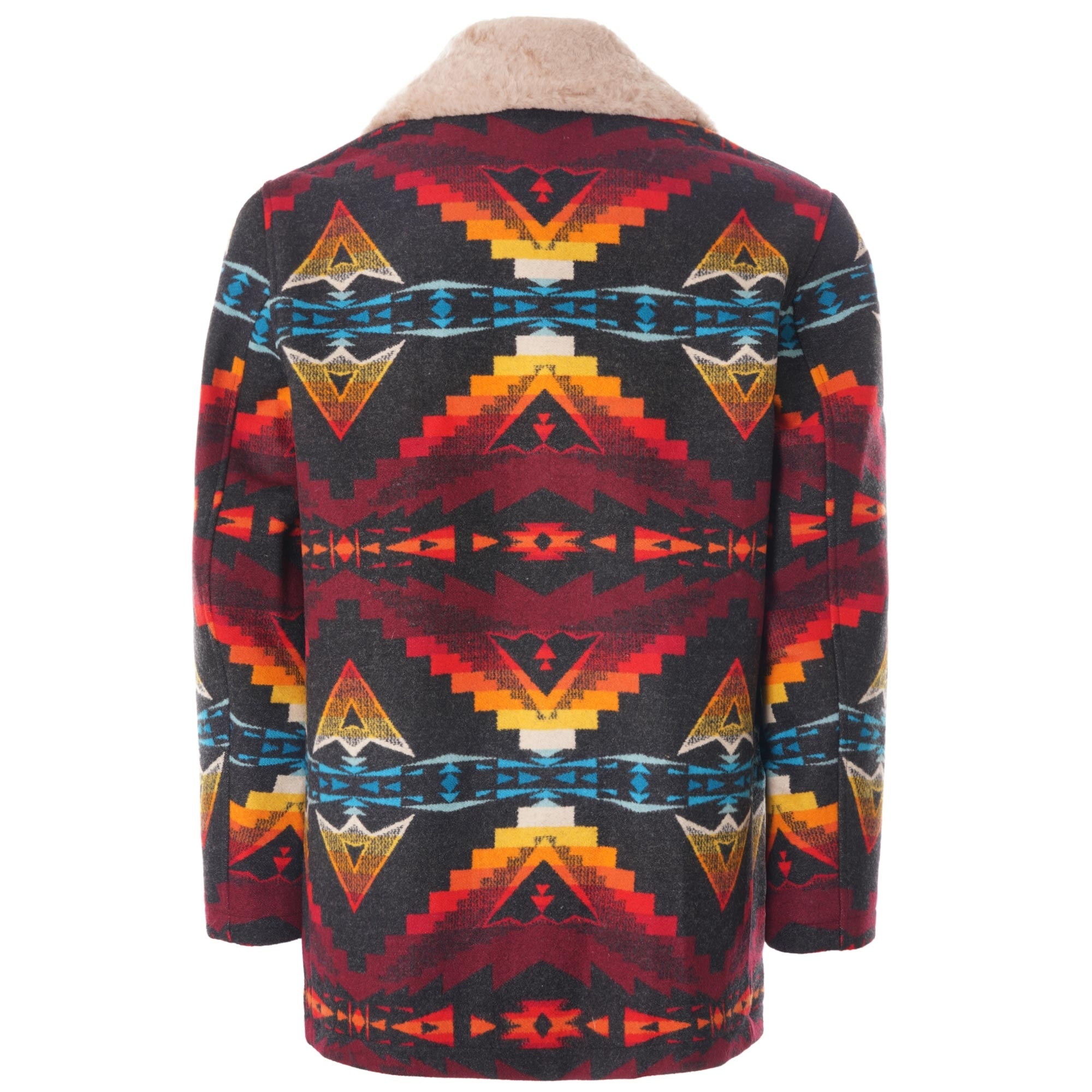 Pendleton Woolen Mills Brownsville Shearling Collar Coat Sierra Bridge Rk495 16015 [ 2000 x 2000 Pixel ]