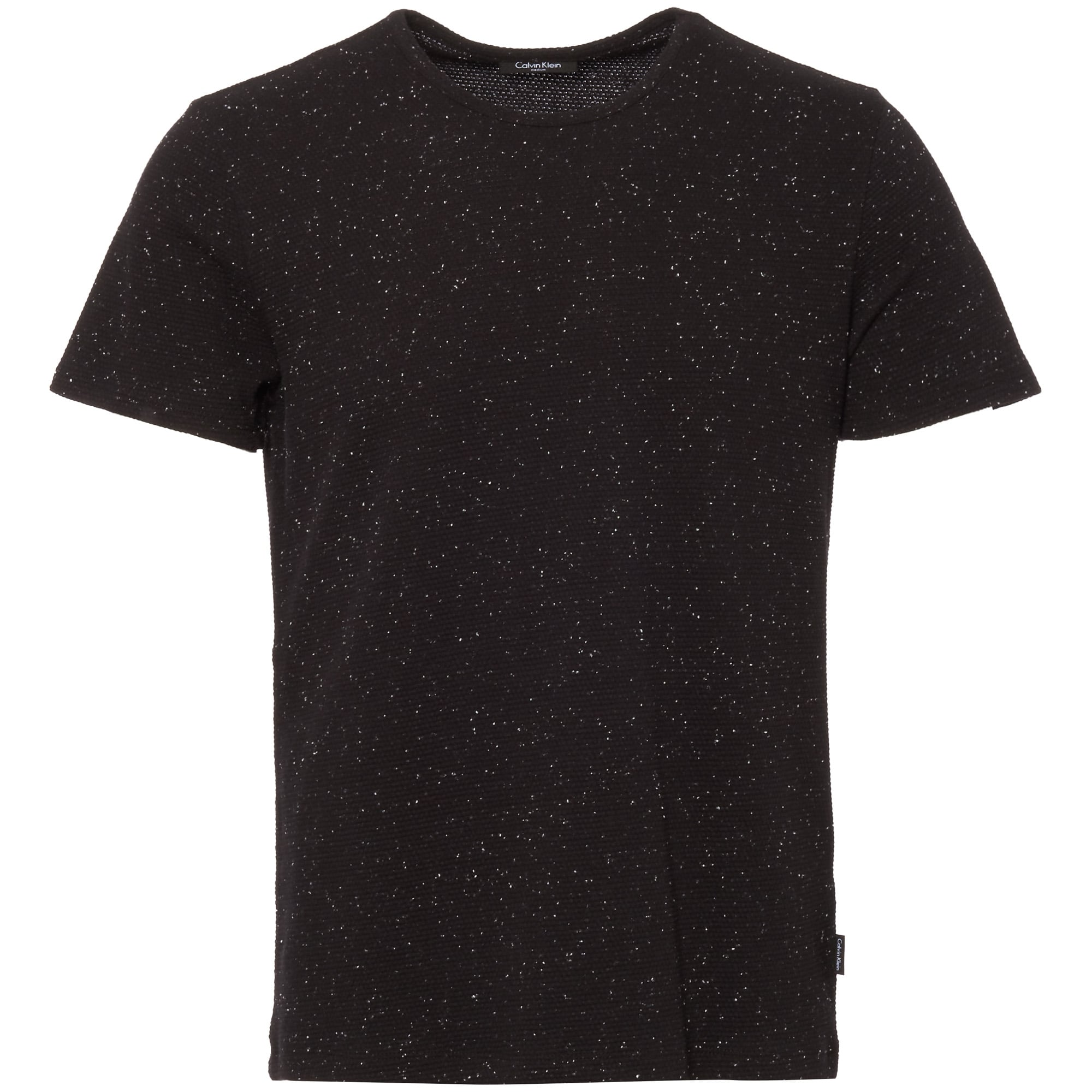 Calvin klein perfect black janeps heathered jersey t shirt for Perfect black t shirt