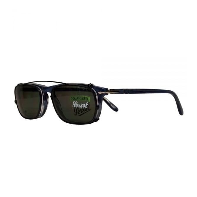Persol PO3031 Blue Polarized Sunglasses
