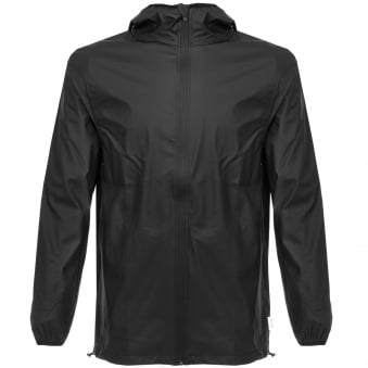 Rains Base Black Waterproof Jacket 1240 01