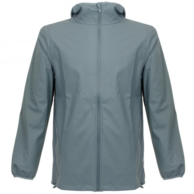 Rains Base Pacific Blue Waterproof Jacket 1240 19