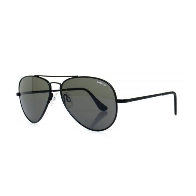 Randolph Sunglasses Randolph Concorde Matte Black Sunglasses CR72411