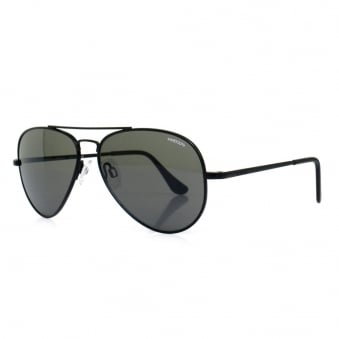 Randolph Concorde Matte Black Sunglasses CR72411