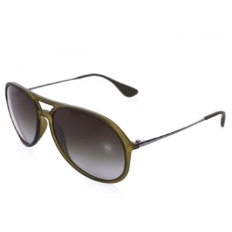 Ray Ban Alex Green Sunglasses 0RB4201-60747Z