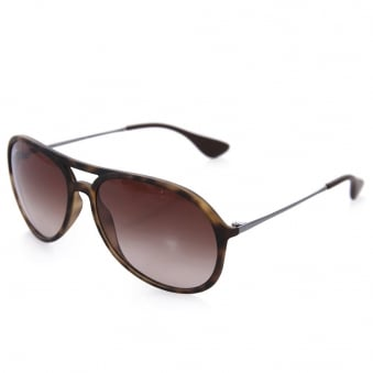 Ray Ban Alex Tortoise Sunglasses 0RB4201-865/13