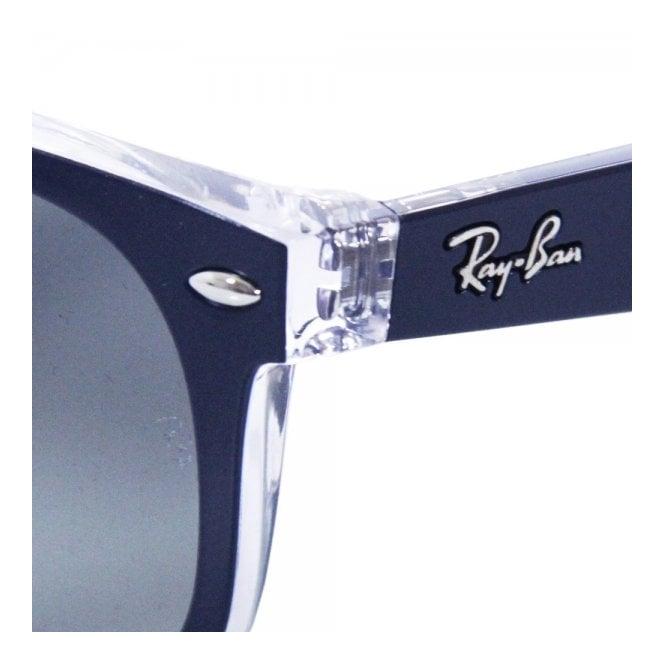 fda4312e4 ... pattern black frame green lens c544a d02f9; cheap ray ban new wayfarer  colour mix blue sunglasses 0rb2132 605371 19210 0cb84
