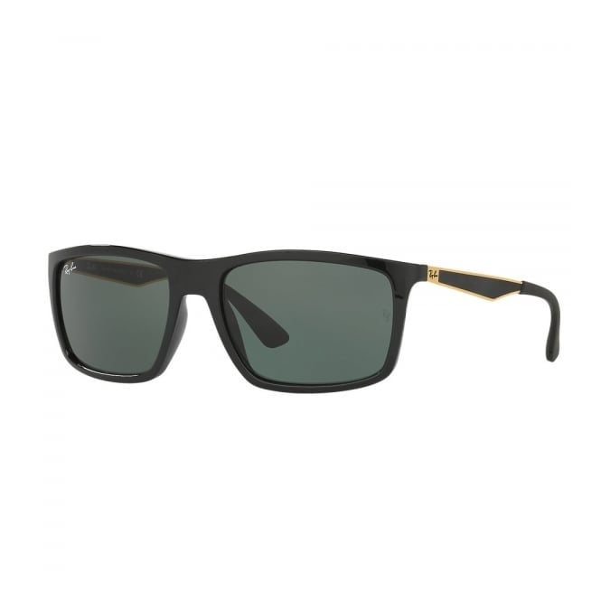 Ray Ban Ray-Ban RB4228 Black Gold Sunglasses RB4228 622771