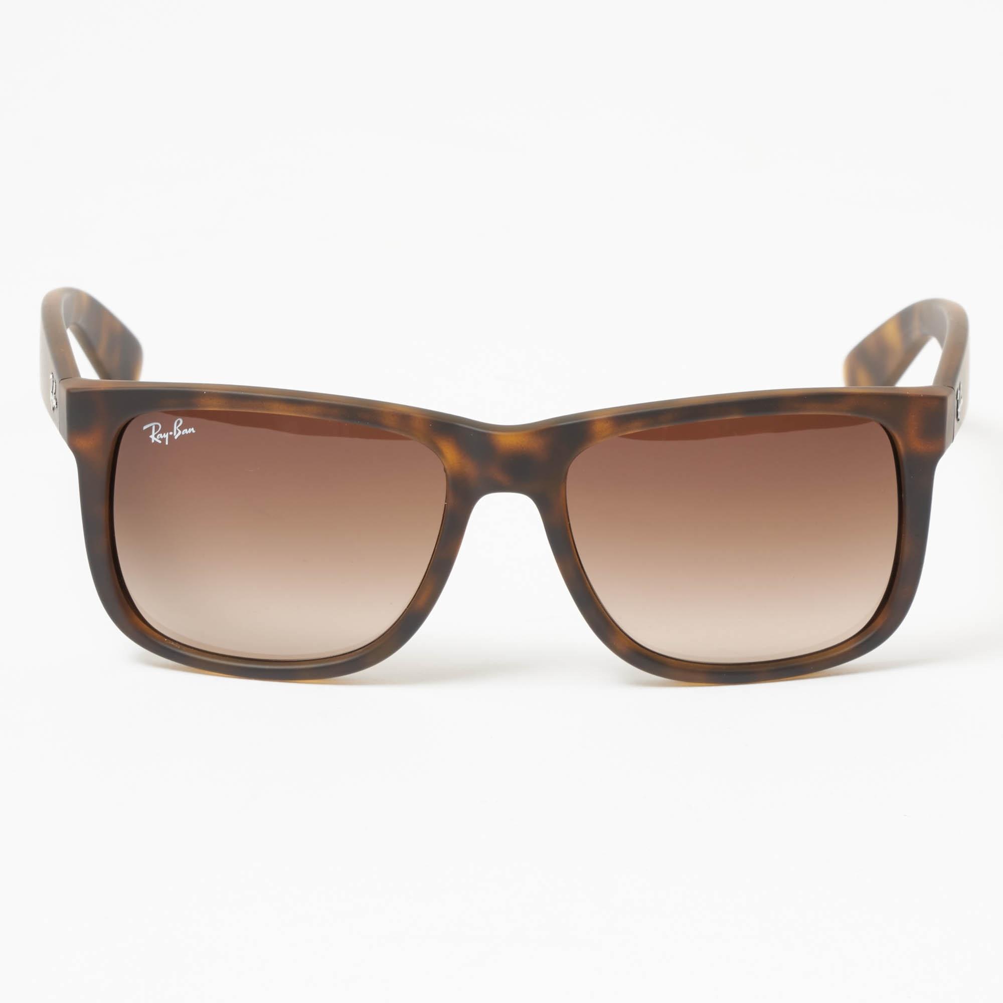 Ray Ban Tortoise Justin Sunglasses | Stuarts London