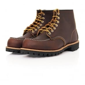 Red Wing Moc Lug Leather Brown Boot 8146-2