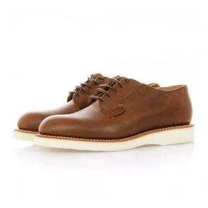 Red Wing Postman Oxford Amber Leather Shoes 03101
