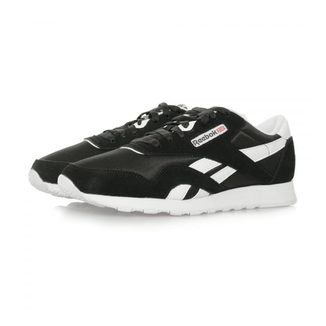 Reebok Classic Nylon Black Shoes 6604
