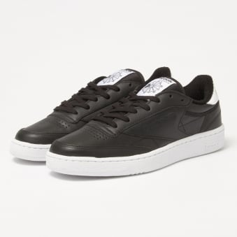 Reebok Club C85 EL Black Sneakers BD5685