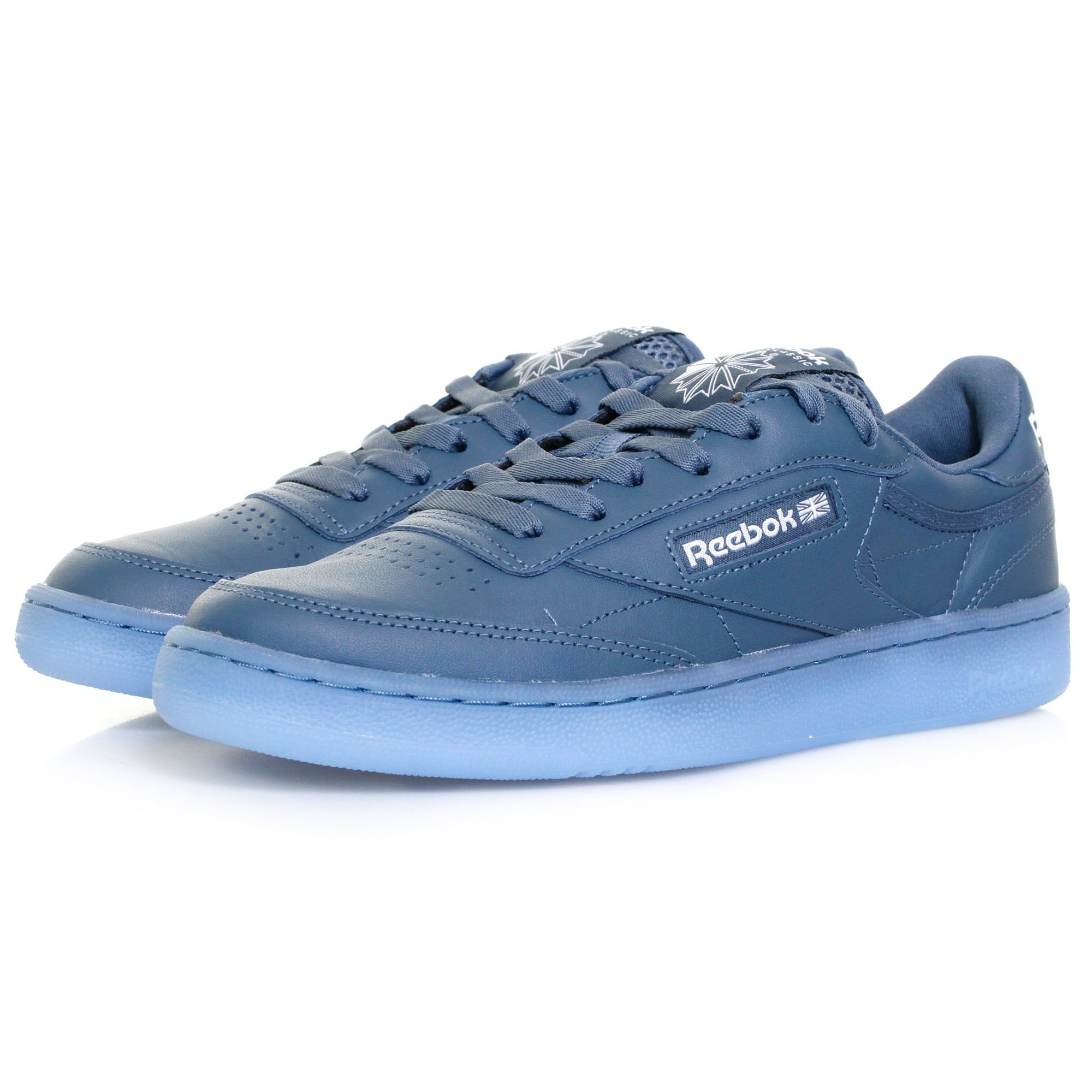 684bb1e399b96 Reebok Club C85 Ice Blue Shoe BD1672