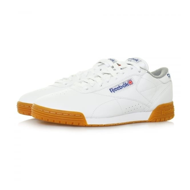 Reebok Exofit Lo Clean Logo R12 int White Leather Shoe M45030
