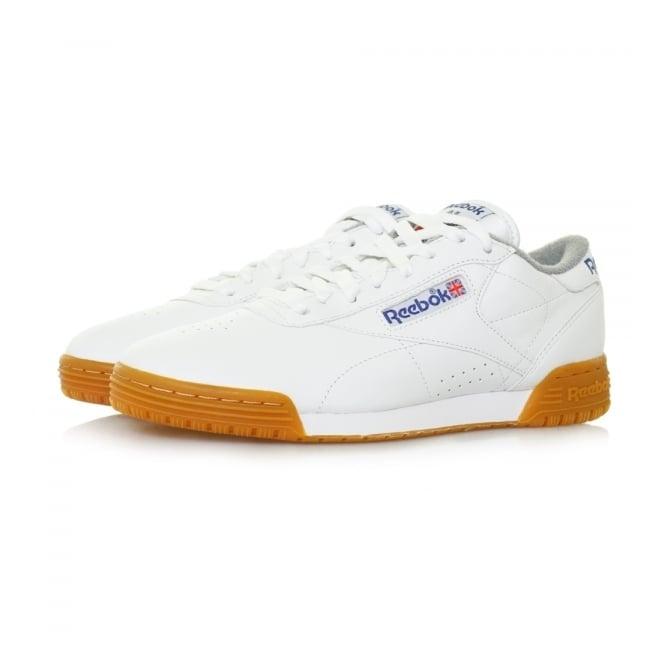 Reebok Exofit Lo Clean Logo R12 int White Leather Shoe M45030