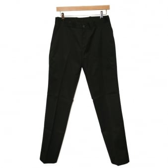 Relco London Staypress Black Trousers