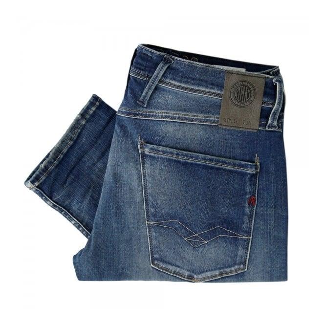 Replay Jeans Hyperflex Anbass Slim fit Midwash Jeans M914