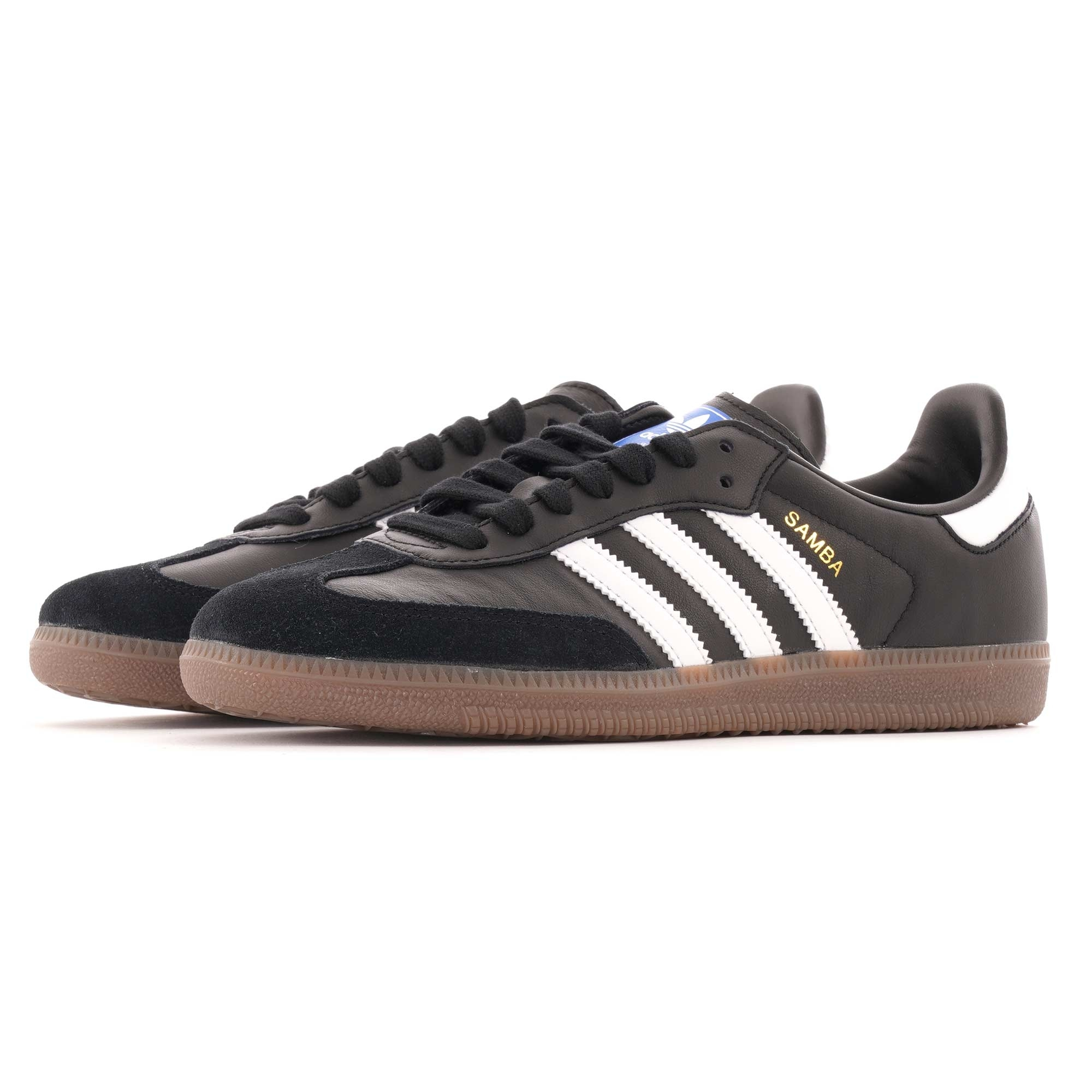 Adidas Gazelle Indoor Core BlackWhiteGum
