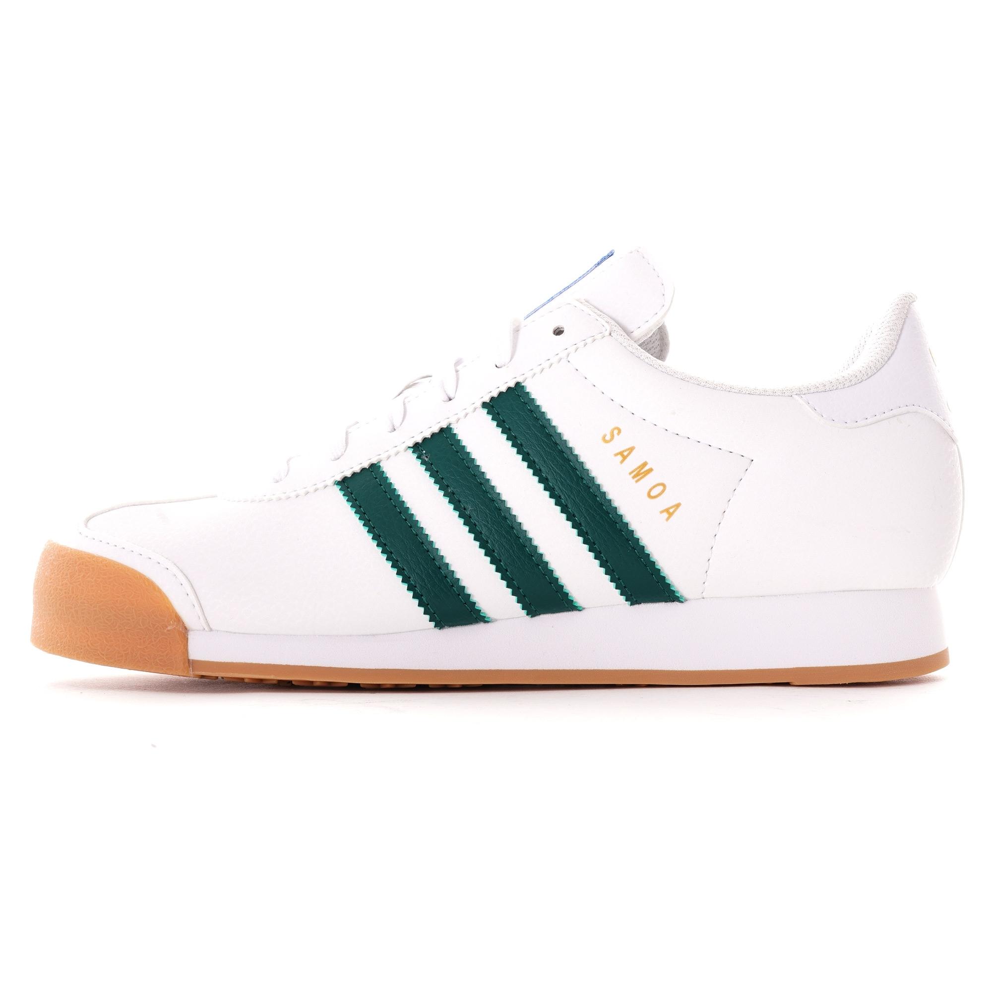 adidas Samoa Shoes | White/Green | EG6089