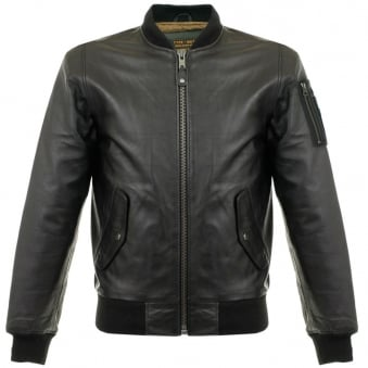 Schott LC 2305B Black Lambskin Leather Jacket LC2305B