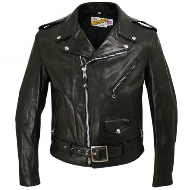 Schott NYC Classic Perfecto 118 Leather Motorcycle Jacket