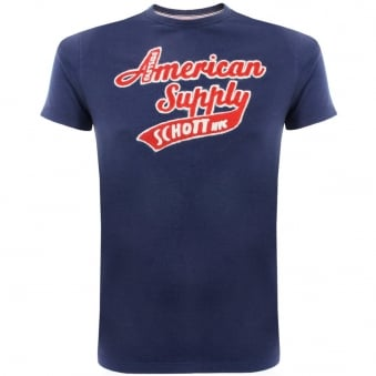 Schott NYC Denis 1 Denim T-Shirt DMS1509