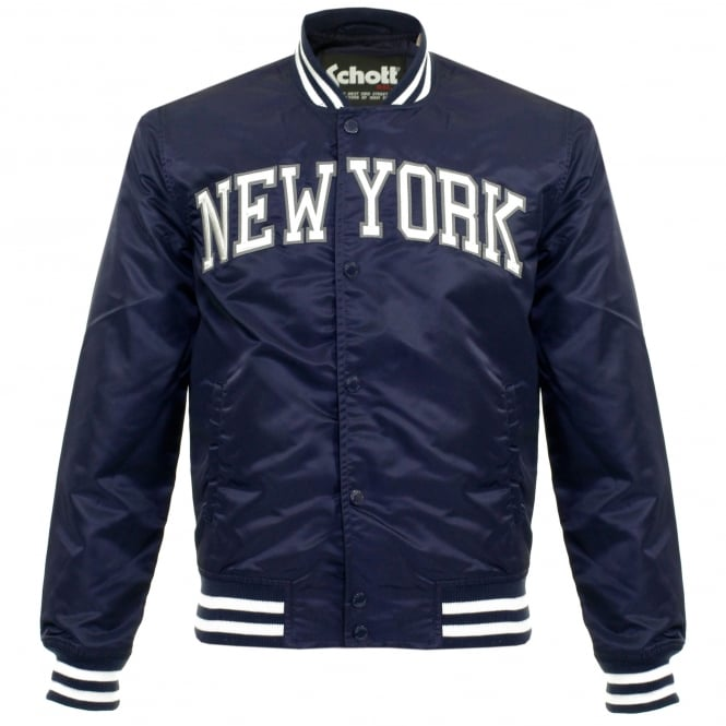 Schott NYC Stadium New York Midnight Bomber Jacket