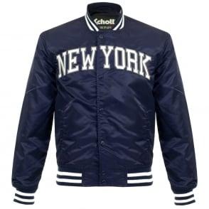 Schott NYC Stadium New York Midnight Bomber Jacket