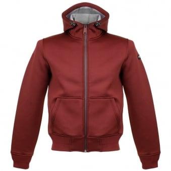 Schott NYC SW Blade 2 Bordeaux Hooded Jacket SWBLADE2