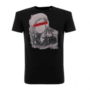 Schott NYC Tsicon 2 Black T-Shirt CRS1604