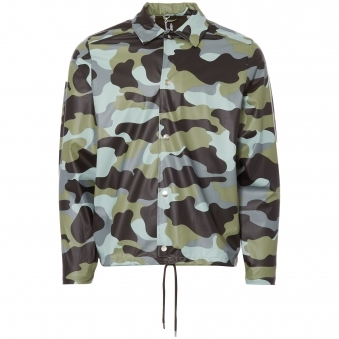 Sea Camo Coach Jacket