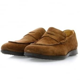 Sebago Teagues Camel Penny Loafer Shoe B160204