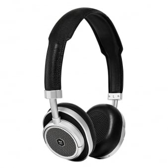 Silver & Black MW50 On-Ear Wireless Headphones