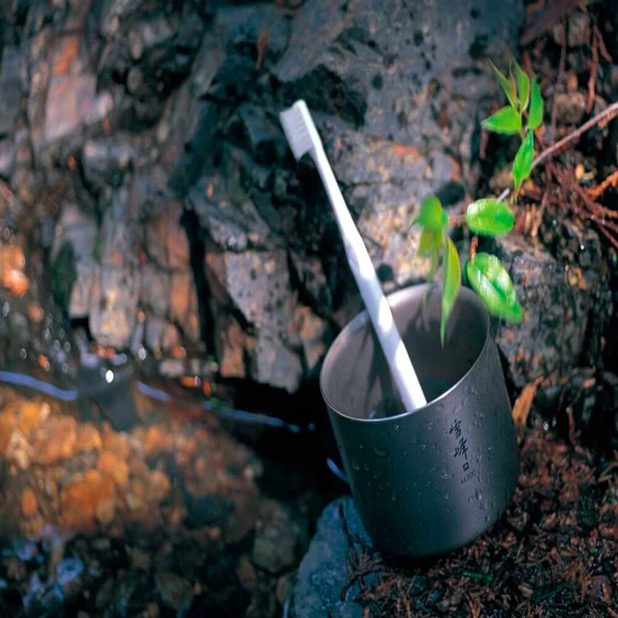 Made in Japan, Premium Titanium Snow Peak Titanium H300 Stacking Mug TW-123