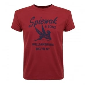 Spiewak and Sons Red T-shirt 02SPMCS0271FSJ01