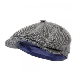 Stetson Fairbank WV/LI Blue Flat Cap 6870801-17