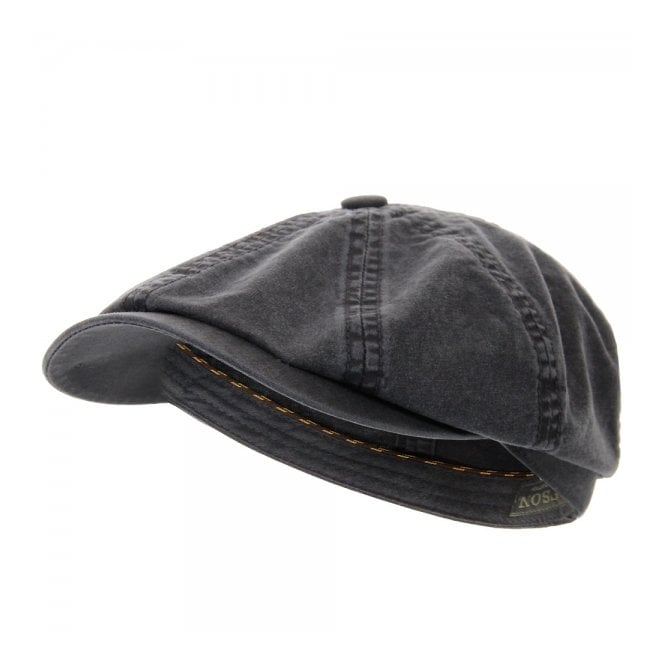 Stetson Hats Stetson Hatteras Delave Organic Cotton Ash Grey Hat 6841106-2