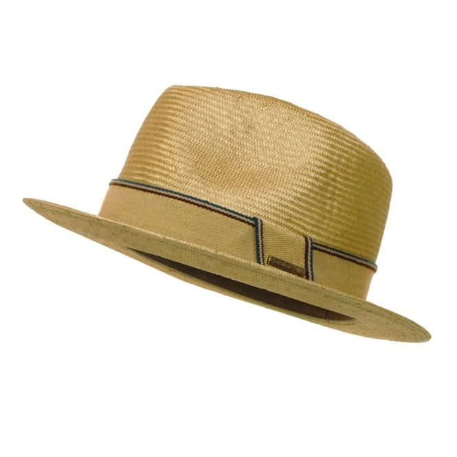 Stetson Hats Stetson Natural Straw Trilby Hat 2148506 7