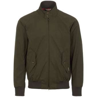 Stuarts Anniversary Archive Fit G9 Harrington Jacket - Military Green