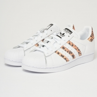 Superstar - White & Tiger Print