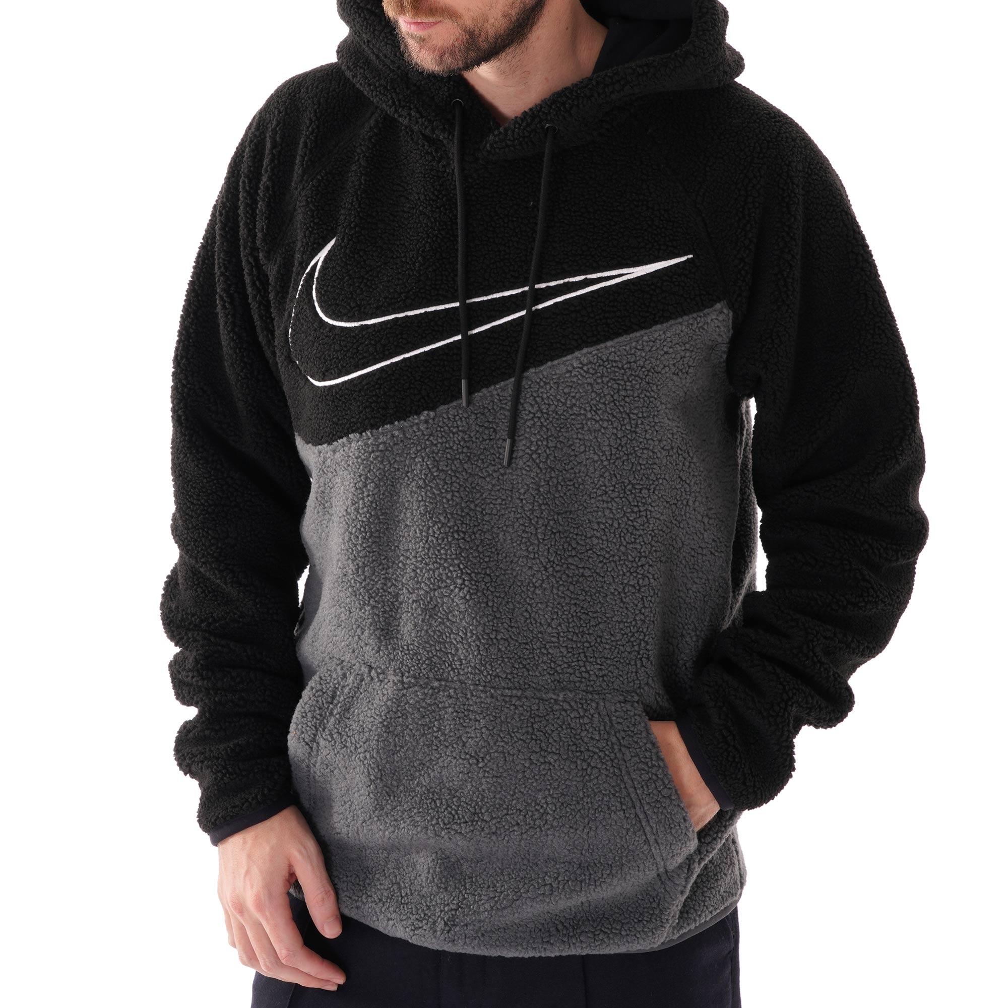 nike swoosh hoodie fleece