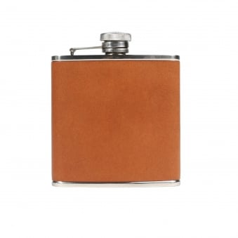 Tan Walton Hip Flask