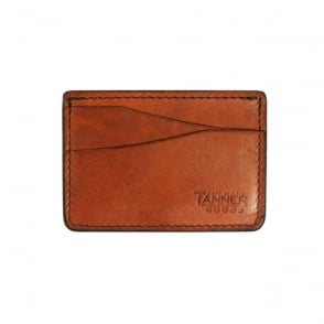 Tanner Goods Journeyman Chicago Tan Card Holder
