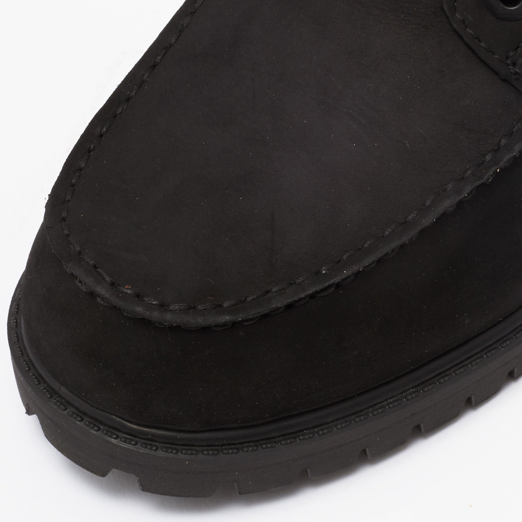 Timberland Black Icon 6 Inch Moc Boot
