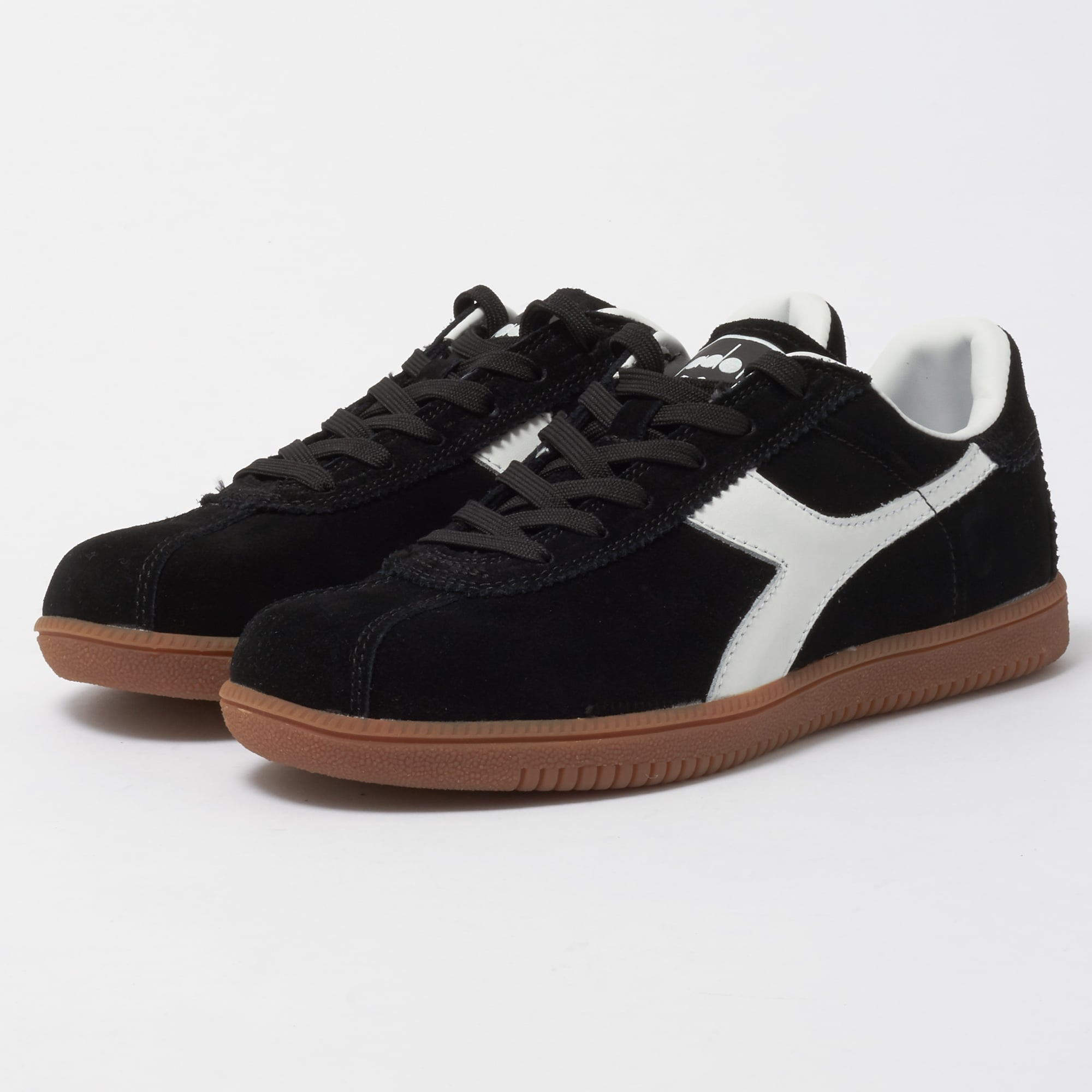 Sneakers for Women On Sale in Outlet, Black, Canvas, 2017, 3.5 8.5 Diadora
